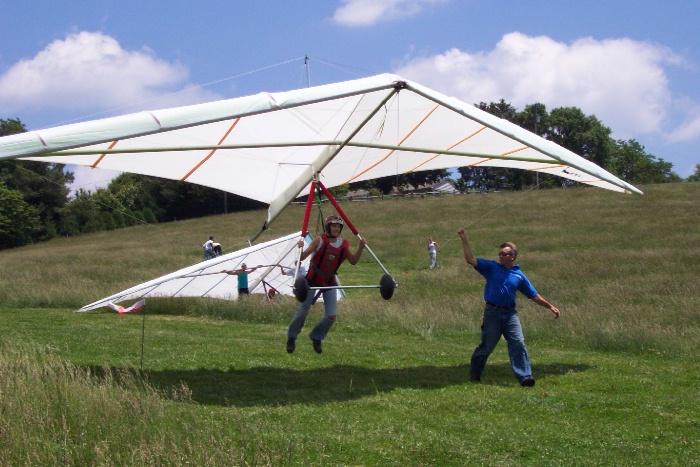 BlueSky Virginia Hang Gliding Articles